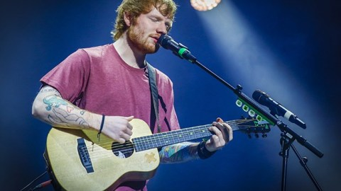 Singer Ed Sheeran Adjudged The Most Listened to Artist of 2019
