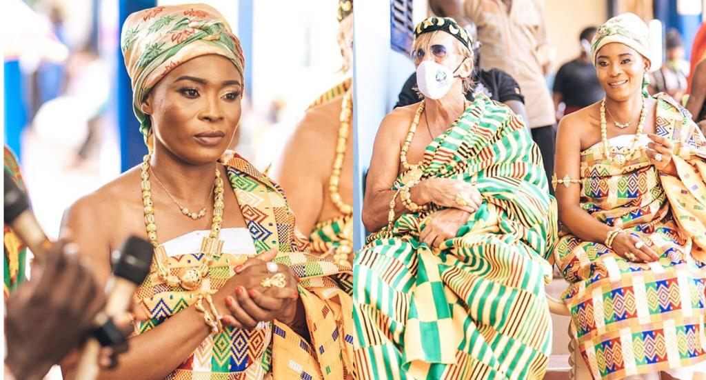 Keche's Wife Madam Joan, Crowned Queen Mother At Agona Wasa Amenfi ...