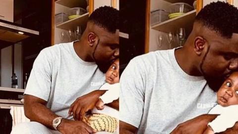 Sarkodie Finally Shares A Photo Of His Son, Michael Nana Yaw Owusu Addo
