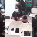 This Is A Clear View Of The Baby Tracy Sarkcess Was Holding, Who Looks Very Much Like Sarkodie – Video