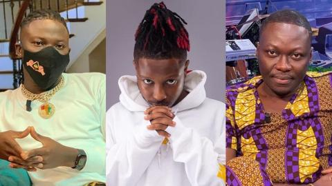 Stonebwoy Passionately Talks About Kelvyn Boy's Accusations, Clashes With Arnold Baidoo In The Process