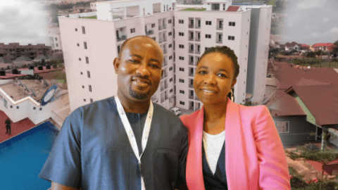 """My Wife Pushed Me Start My Own Company""–Stephen Debrah Tells Story Of How He & His Wife Built Over 500 Apartments In Ghana (Video)"