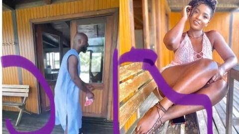 Kwabena Kwabena And Ahouf3 Patri On A Vacation At A Beach House?