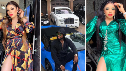 "Bob Risky finally shares photos of her billionaire ""bae"""