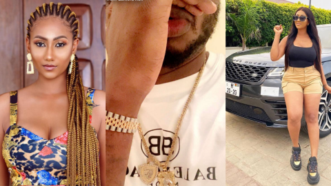 This Is How Hajia4Real Wished Her 'Ghost' Boyfriend As He Celebrates His Birthday