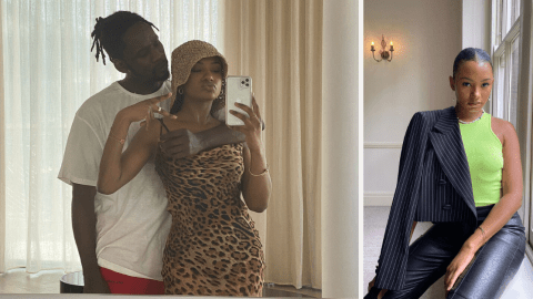 """You make love dey sweet person""–fans gush over loved up photos of Mr.Eazi and girlfriend Temi Otedola"