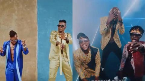 Keche And Kuami Eugene Release Preview Of Their Expensive Video Financed By Keche's Millionaire Wife, GEM Media Ceo