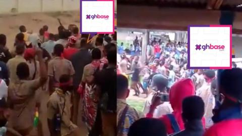 KNUST Shs Students Protest Heavily Over Death Of Colleague Who Was Abandoned When Sick