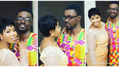 Nana Appiah Mensah Praises Wife, Rozy For Being There In These Trying Times, In A Lovely Birthday Message To Her