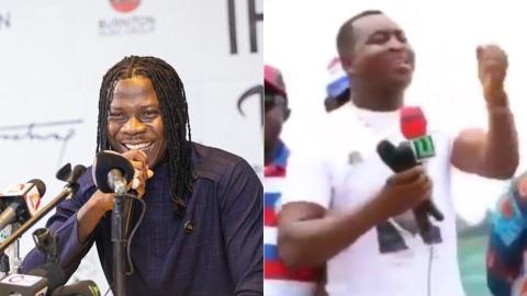 Stonebwoy Shows His Funny Side With Viral Video Of Chairman Wontumi Giving A Speech