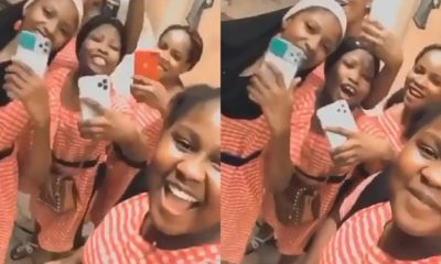 High School 'Slay Queens' Flaunt Their Newly Acquired iPhones