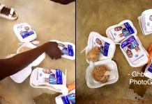 Dear Nana Addo, Your Free Meal Is Not Fit For Human Consumption – JHS Pupils Protest