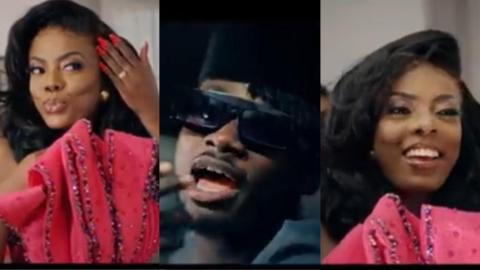 This Was Nana Aba Anamoah's Role As A Video Vixen For The First Time As She Featured In Kuami Eugene's Video