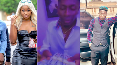 Shatta Wale Dashes His Bestie Efia Odo $40,000 As Birthday Gift