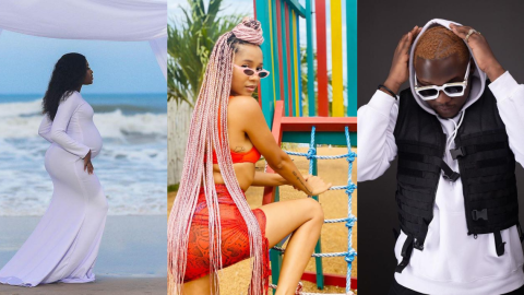 Sister Derby Reacts After Fella Makafui And Medikal Share Photos And Videos Of Baby Bump
