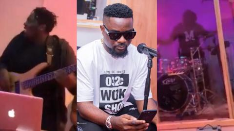 This Is How Fun Sarkodie's Rehearsals Ahead Of His Upcoming Virtual Concert Was