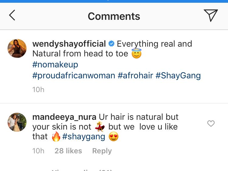 wendy shay natural - Wendy Shay Trolled For Claiming She Is All Natural