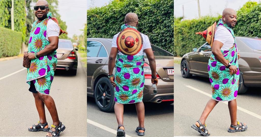 Zara Man Aka Skirt Man, Comes Out With A Local Drip Called 'Korla' -  GhanaSummary