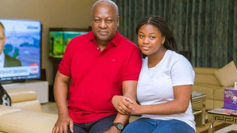 """Negative comments about my father do hurt me"" – Farida Mahama"