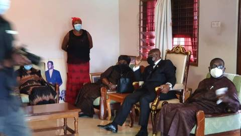 """""""Prez Akufo-Addo is carrying the presidential chair everywhere he goes due to a spiritualist's advice"""" – NDC Communicator"""