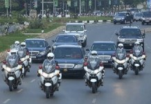 Foreigner narrates how he was picked up by Ghana's presidential motorcade to meet the Vice President just because of his accent and colour