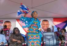 """""""Vote for Akufo-Addo because he has done better than Mahama, who gave the nation's Bauxite to his brother"""" – Samira Bawumia"""