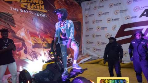 #AsaaseSoundClash: Stonebwoy arrives for the battle with Shatta Wale [Video]