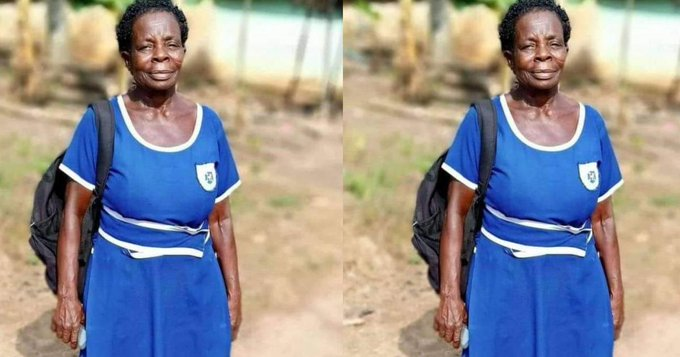 """""""I am determined to work in a government institution and enjoy the money someday"""" – 60-year-old BECE candidate reveals"""