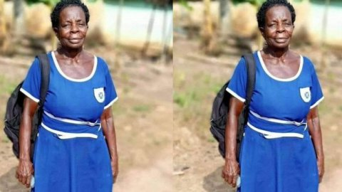 """""""I am determined to work in a government institution and enjoy the money too"""" – 60-year-old BECE candidate reveals"""