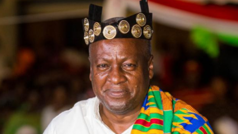 "Video: ""I will build more mortuaries in Zongo communities when voted for"" – Mahama"