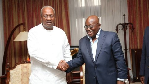 Akufo Addo is now doing things right because of NDC's peoples' manifesto ­– Mahama
