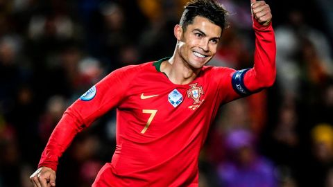 Cristiano Ronaldo becomes first European men's player to score 100 international goals