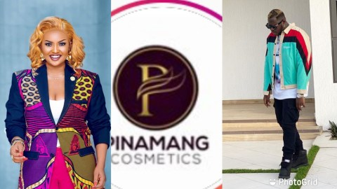 Nana Ama Mcbrown And Medikal Caught Up In A Scandal With Pinamang Cosmetics Brand (+VIDEO)