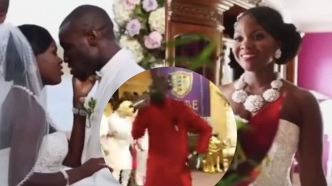 Video of The Ghanaian Pastor Who Killed His Wife Prophesying In Church Pops Up – WATCH