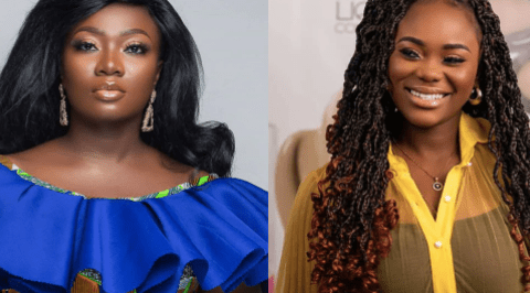 Stacy Amoateng Is The Demon Destroying Akua GMB's Marriage And Making Her Jobless – Kwaku Oteng's Daughter Goes Raw