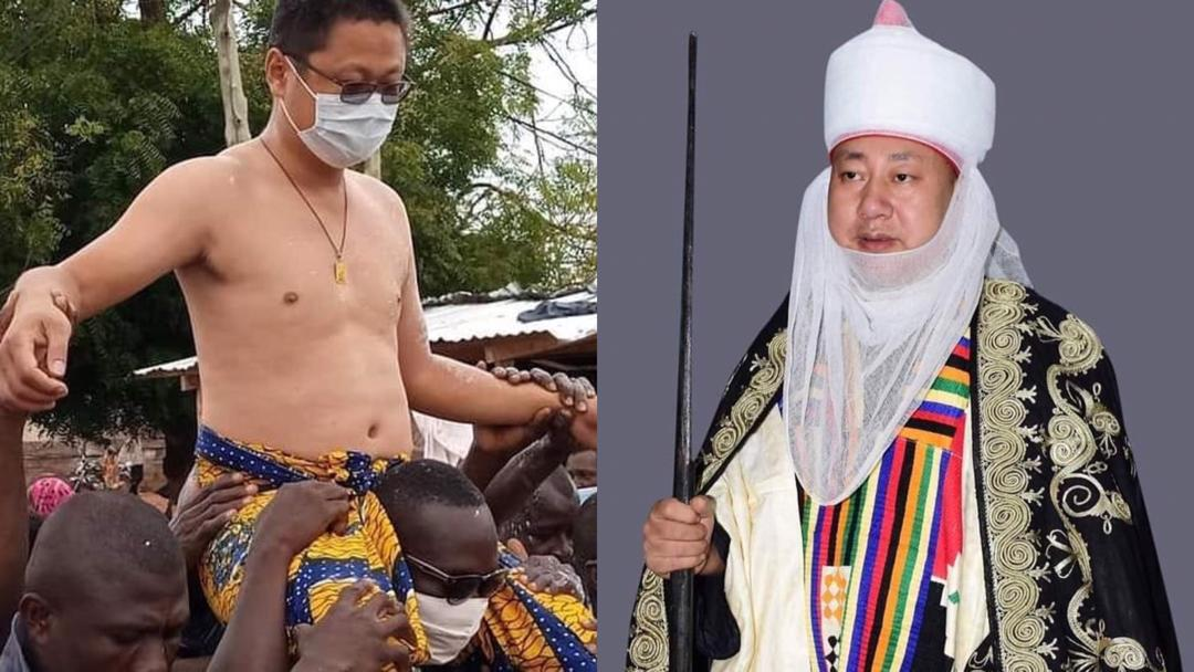 Chinese Man Crowned 'Nkosuohene' In Kwahu Abetifi