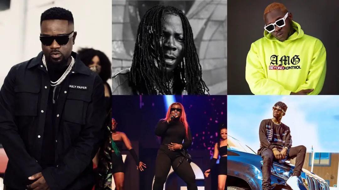 Sarkodie, Stonebwoy, Eno Barony, Medikal, Kuami Eugene, others amongst 2020 AFRIMMA nominees – Check Full list