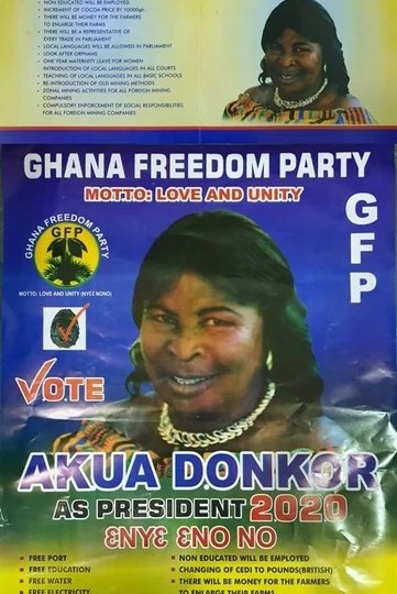 Video: Akua Donkor's Manifesto Out; Vows To Change The Cedi To British Pounds When Voted Into Power. 4