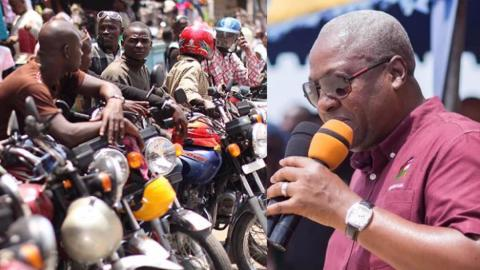 Okada Riders launch campaign to get John Mahama elected in December
