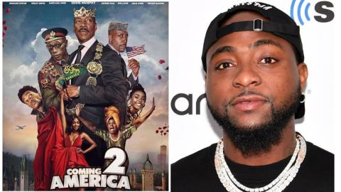 Davido Star Alongside Eddie Murphy, Rick Ross, Wesley Snipes And Others In Coming To America Pt 2