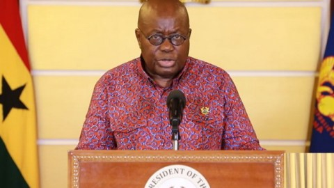 Read Full Text Of Nana Akufo-Addo's 17th Address on COVID-19