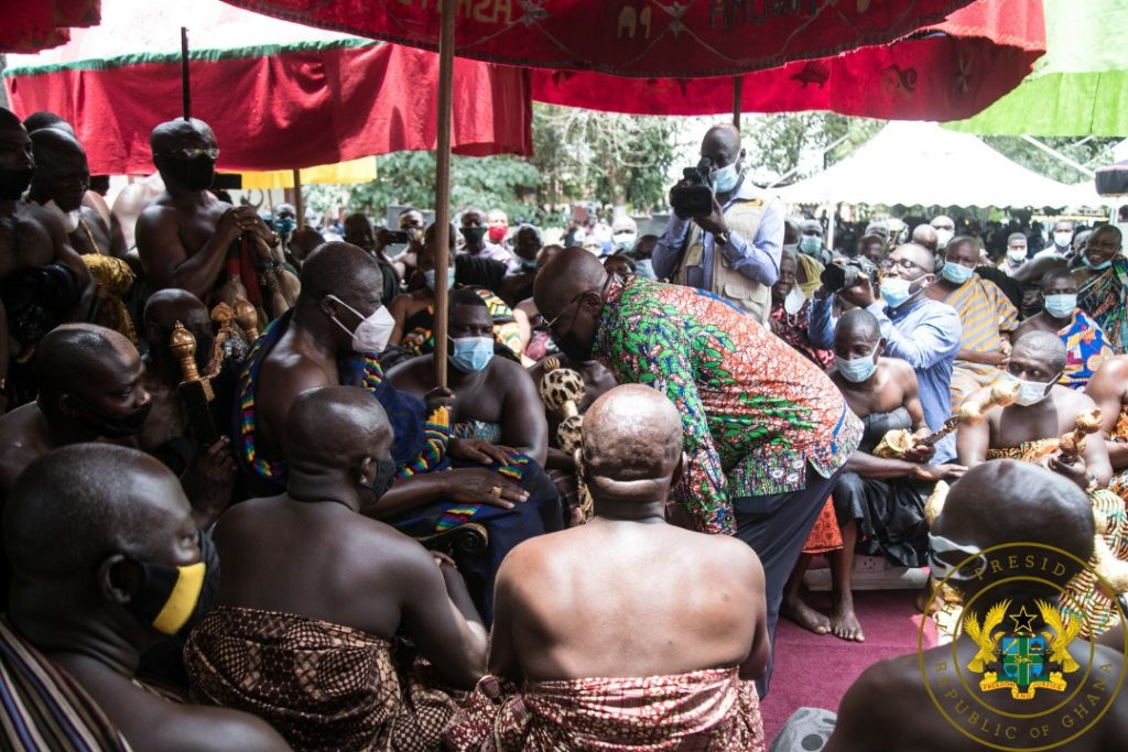 """""""Asanteman will remember your good works on December 7"""" – Otumfuo to Nana Addo"""