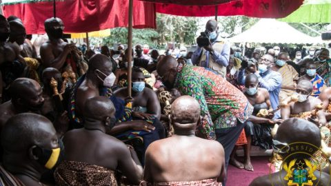 """Asanteman will remember your good works on December 7"" – Otumfuo to Nana Addo"