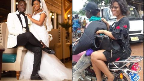 Ghanaian Lady Finds Husband On Facebook After Her Okada Photo Goes Viral