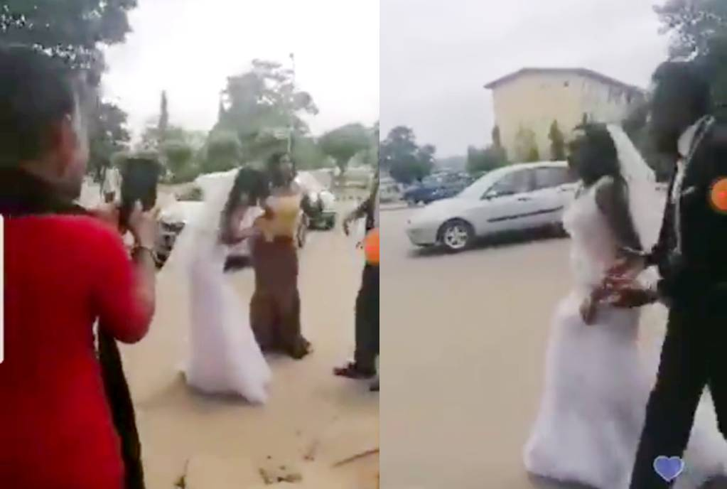 Bride decides not to marry again after finding out her husband-to-be slept with her friend (Video)