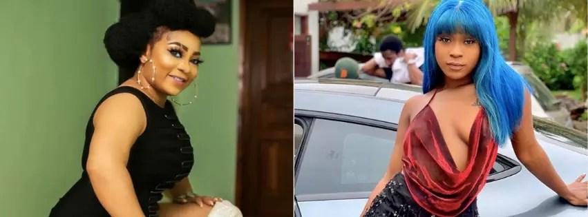 Efia Odo and Vicky Zugah