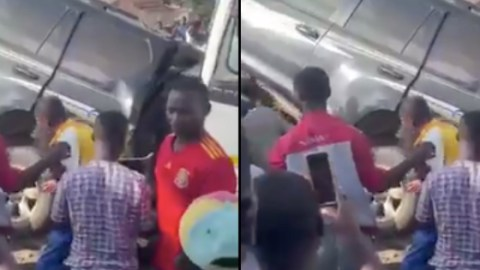 Just In: Ghastly accident on Awoshie-Odorgonno road (+ Video
