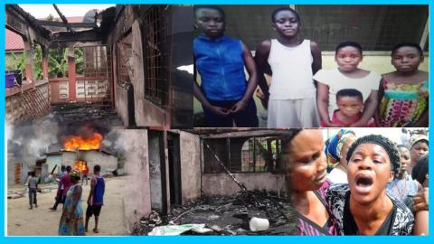 Real Cause Of The Death Of Four Siblings Who Got Burnt In A Locked Room Revealed (+VIDEO)