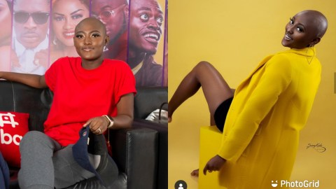 (+VIDEO) I Was Tagged As Abnormal And Sick When I Decided To Be A Bald Model – Solace