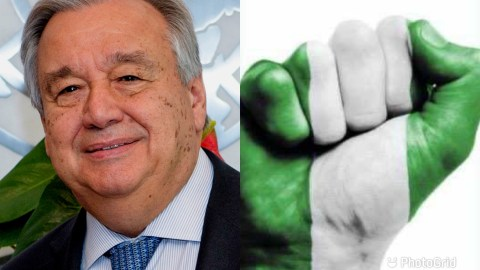 UN Secretary General Finally Speaks On Police Brutality Happening In Nigeria, Calls For Justice To Be Served